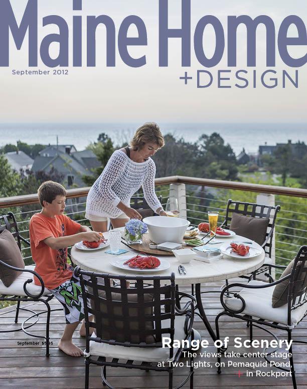 Maine Home+Design Cover September