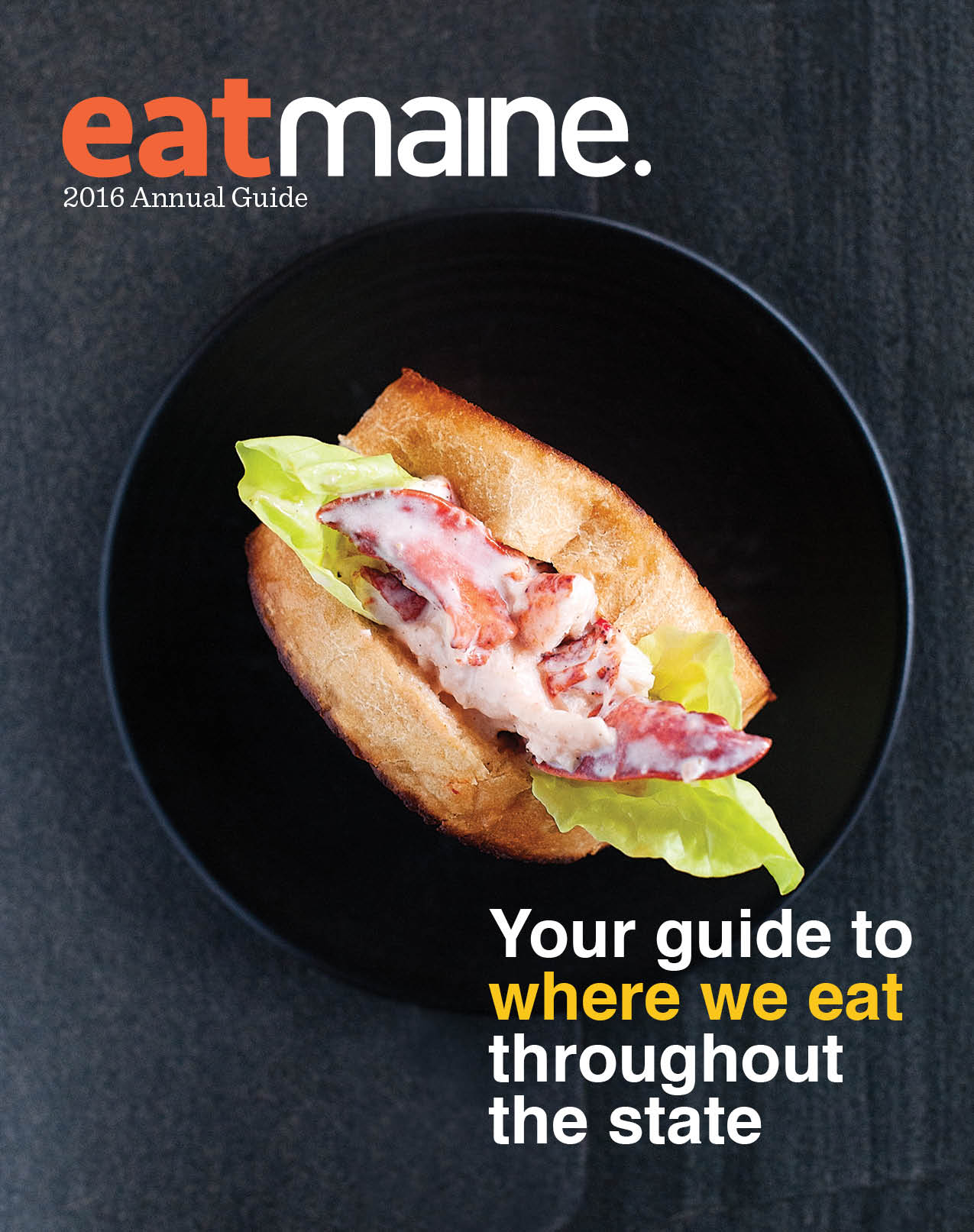 Eat Maine Annual Guide magazine