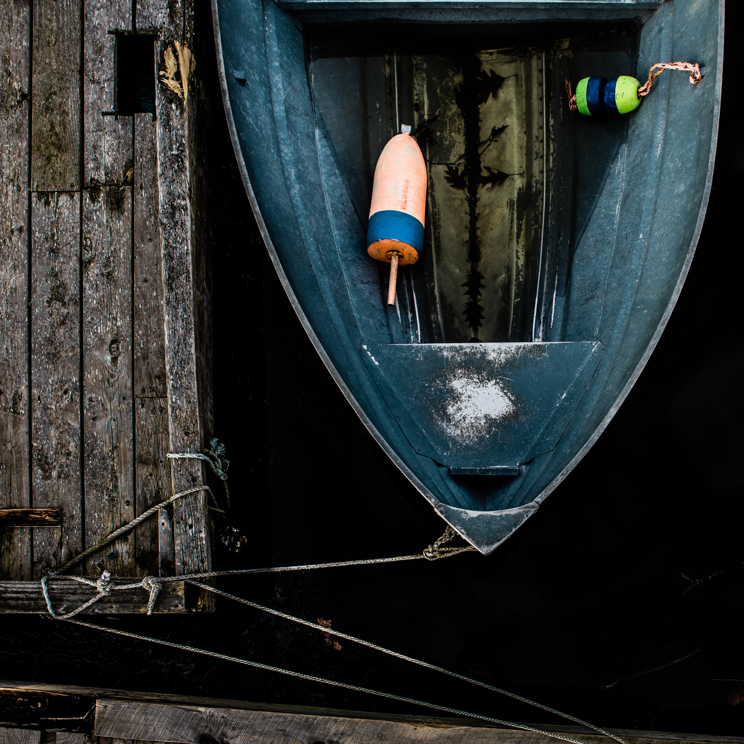 Boat dock buoy Maine photo wall art print © Heidi Kirn Photography085-2.jpg