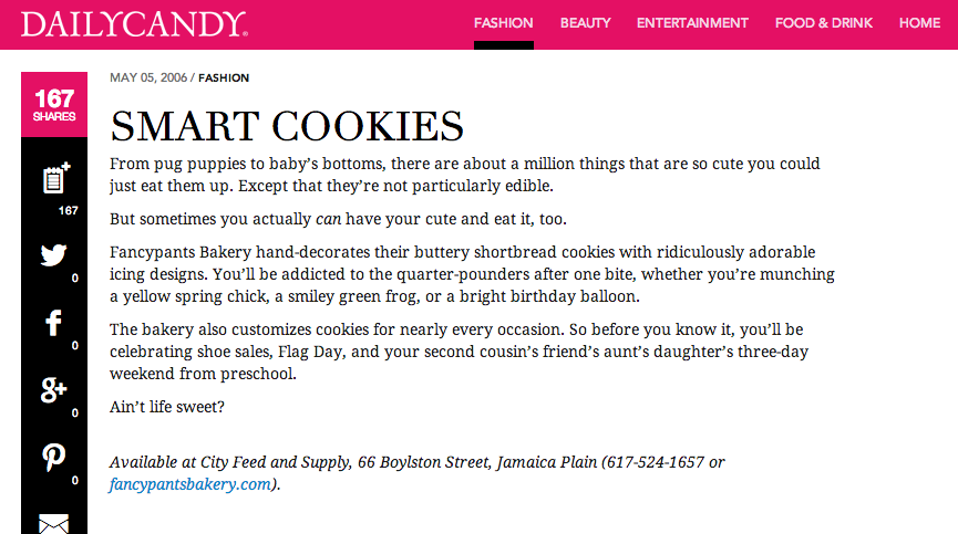 DailyCandy: Smart Cookies