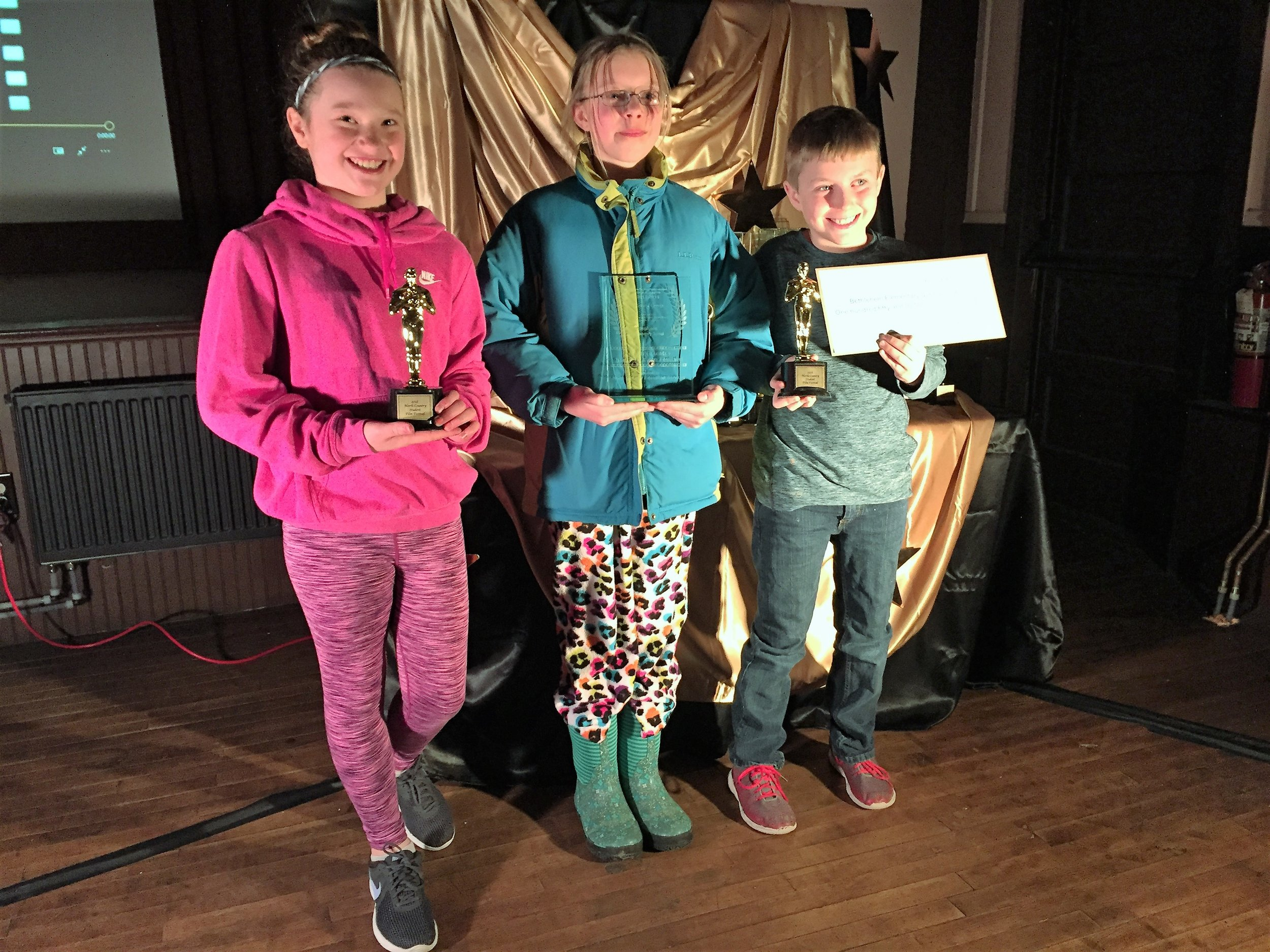 """Winner (tie): An Eye for the Environment   """"Growing Greens"""" by Bethlehem Elementary"""