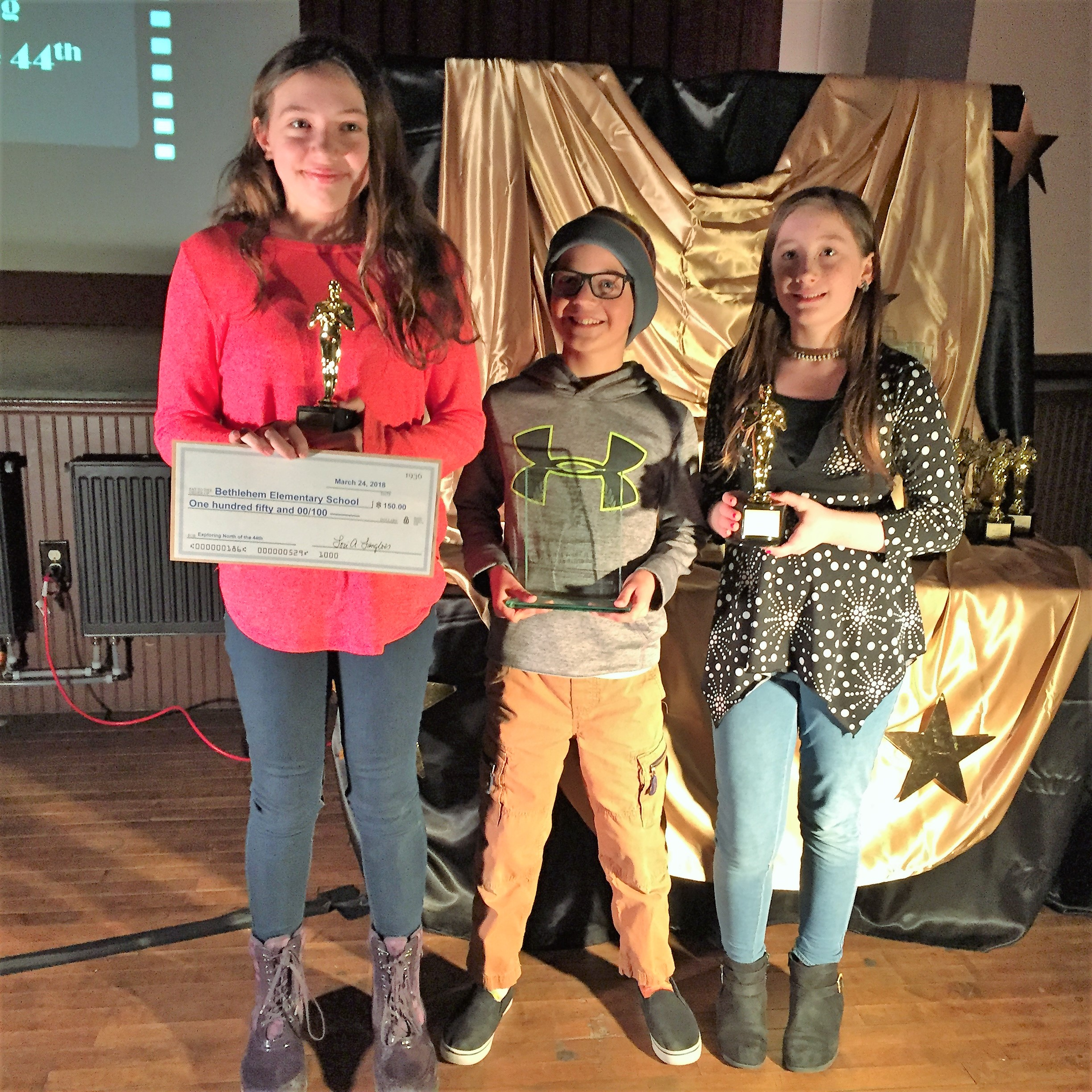 """Winner (tie): Exploring North of the 44th   """" Exploring Franconia Notch """" by Bethlehem Elementary"""