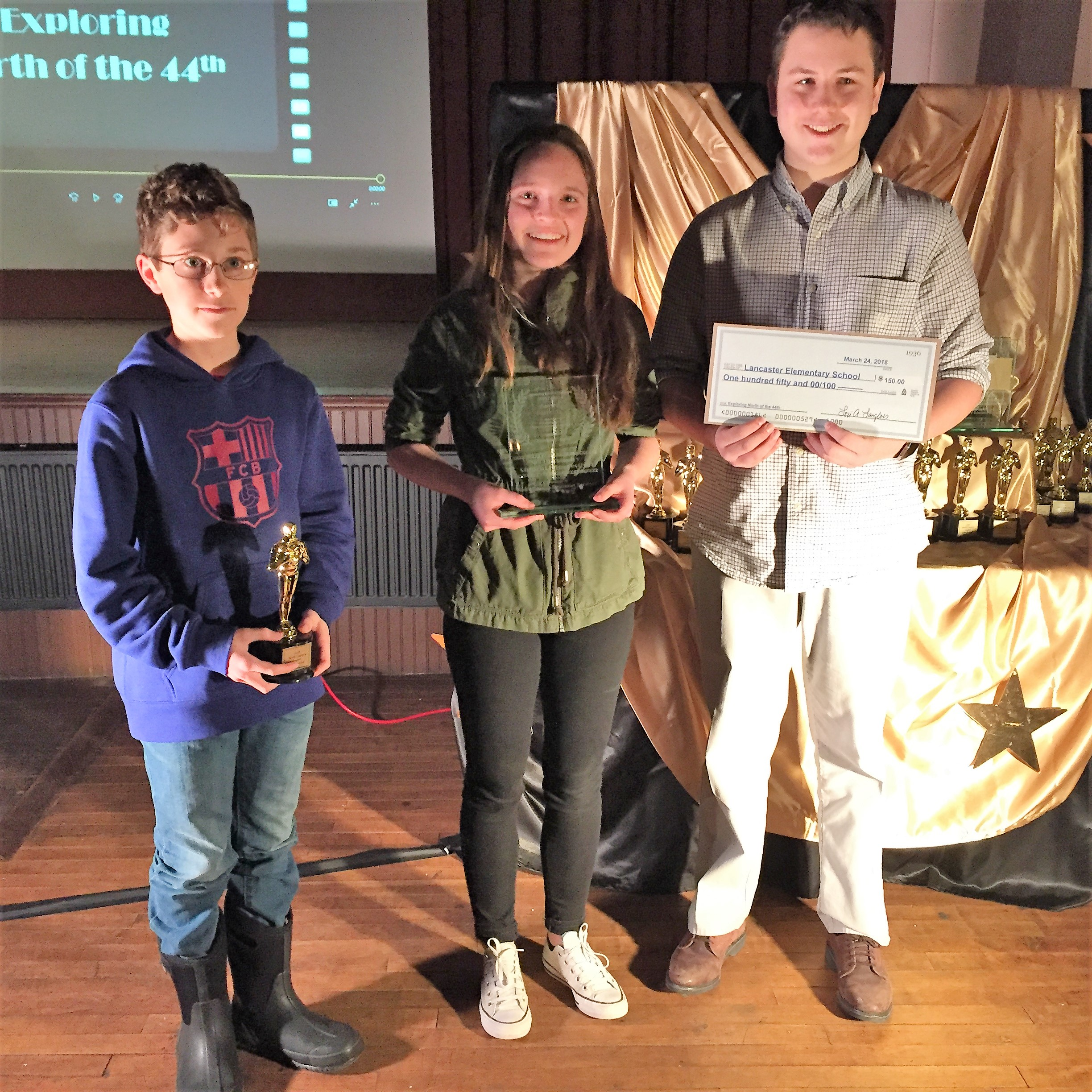 """Winner (tie): Exploring North of the 44th   """" Adventure into the Snow """" by Lancaster Elementary"""