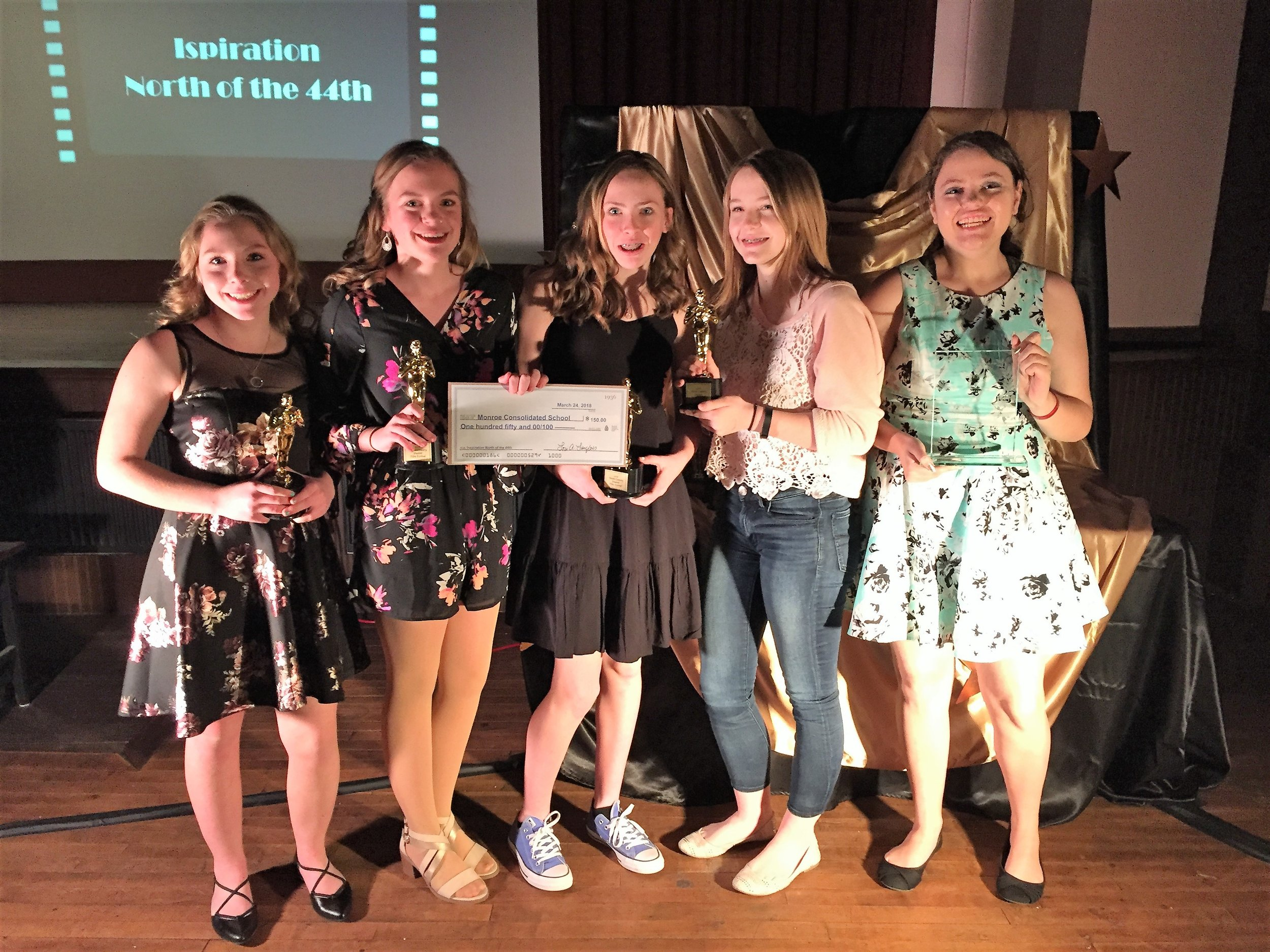 """Winner: Inspiration North of the 44th   """" You Are Worth It """" by Monroe Consolidated School"""