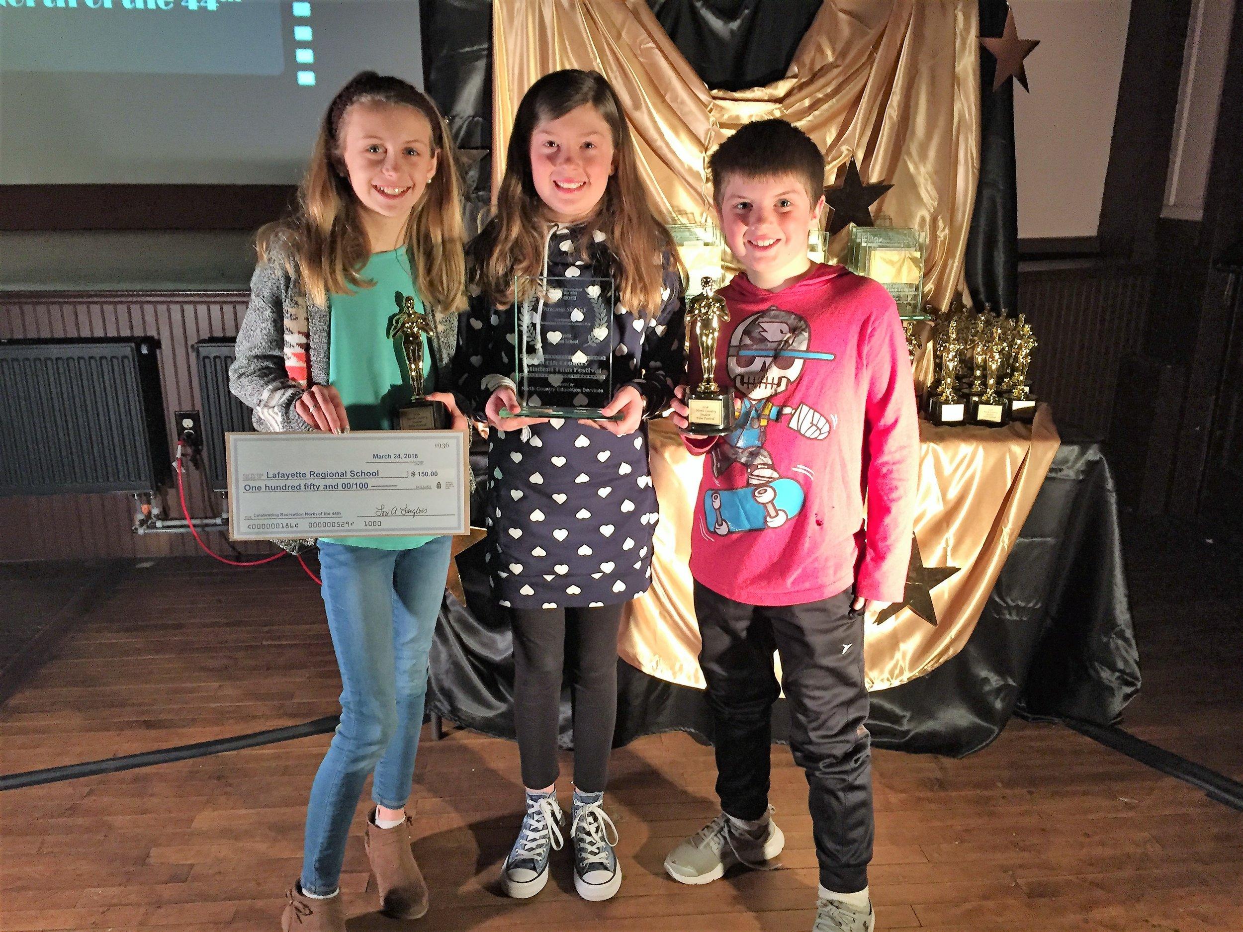 """Winner: Celebrating Recreation North of the 44th   """"Franconia Ski Club"""" by Lafayette Regional School"""