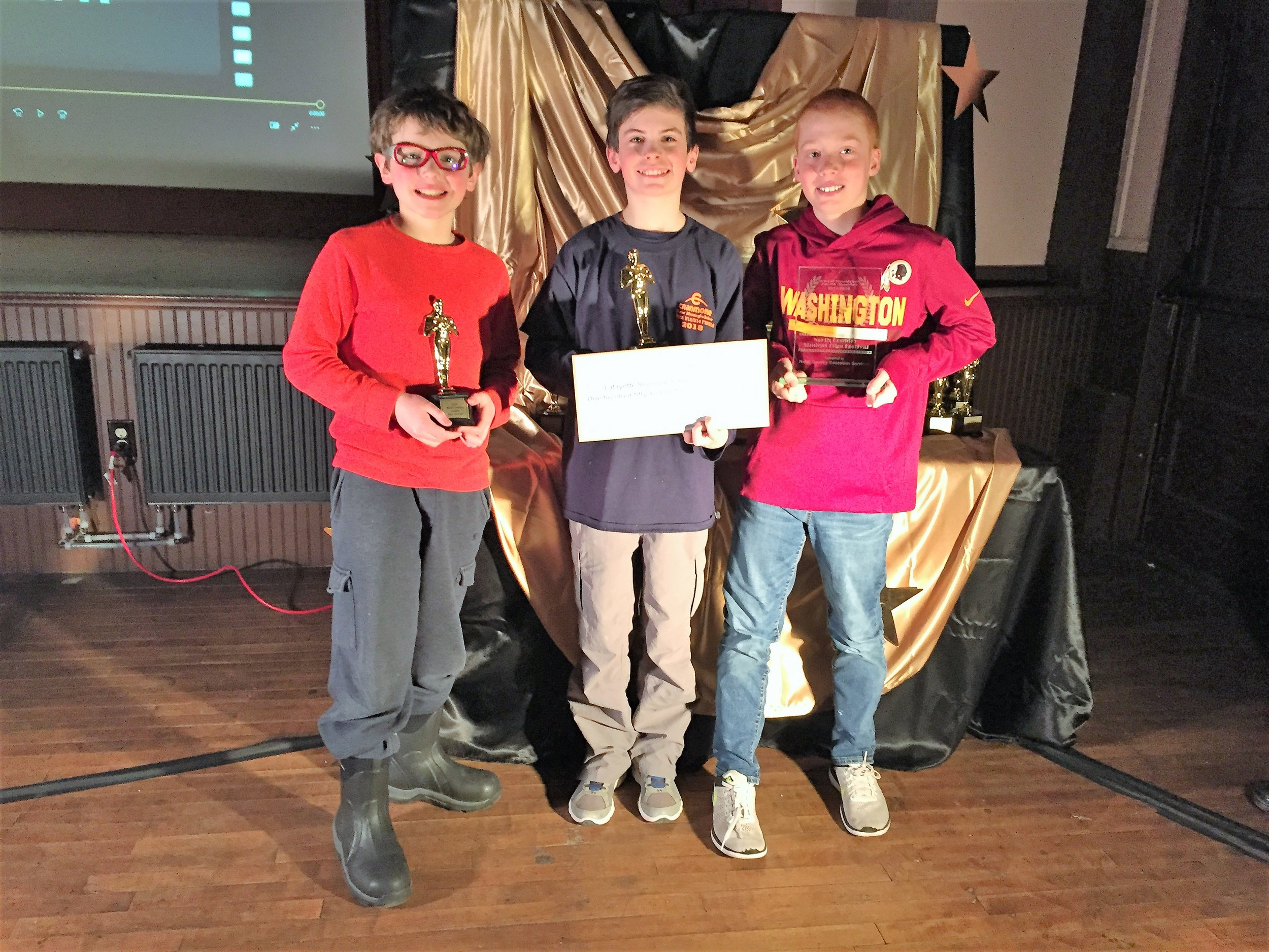 """Winner (tie for 2nd): Serving the Community North of the 44th   """"Fish and Game: Protecting NH for Over 150 Years"""" by Lafayette Regional"""