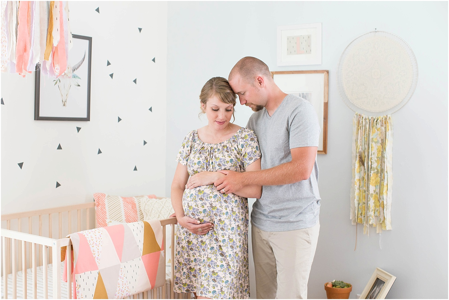 Ashley Powell Photography | Styled Maternity Session | Roanoke, VA Photographer