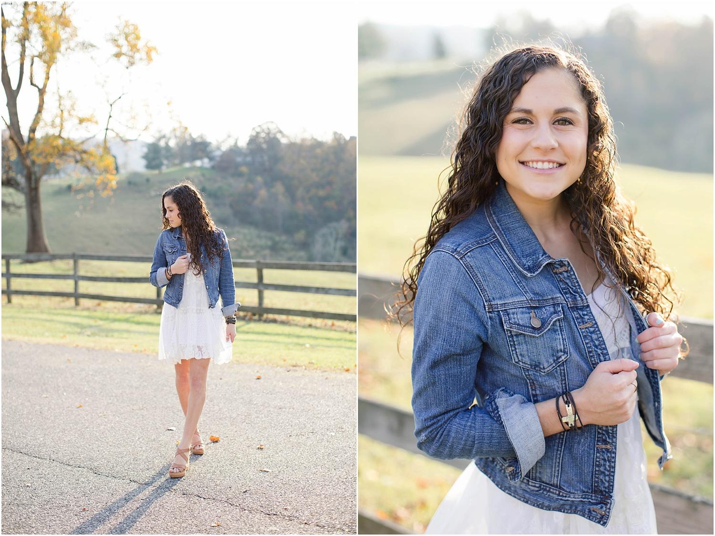 Senior Portrait Session | Ashley Powell Photography | Roanoke, Virginia Photographer