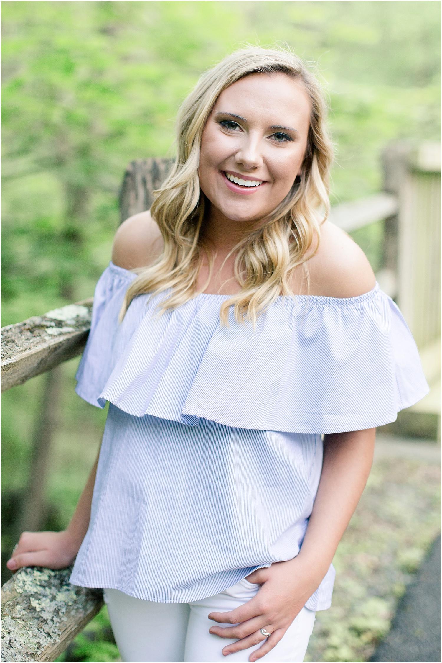 Senior Portrait Session | Ashley Powell Photography | Roanoke, VA Photographer | Radford University