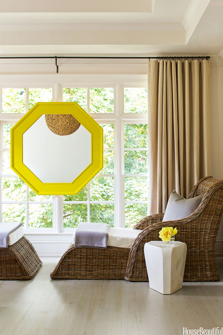 Brighten your spot up with fun, imaginative mirrors that call for deeper reflection.