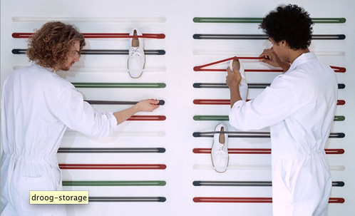 Start taking DROOGs: get stuff off the floor in the snappiest way known to man