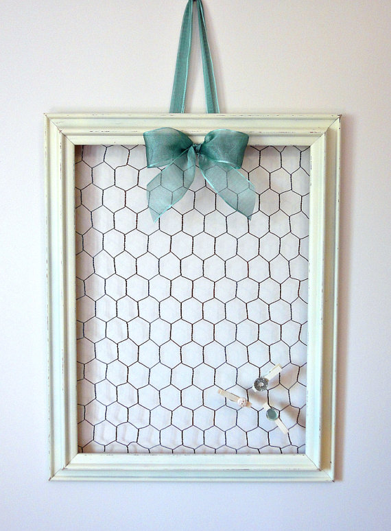 Hang up girly goodies easily—and in a way that matches your decor.
