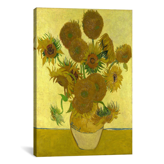 Vase with 15 Flowers by van Gogh: a quality reprint