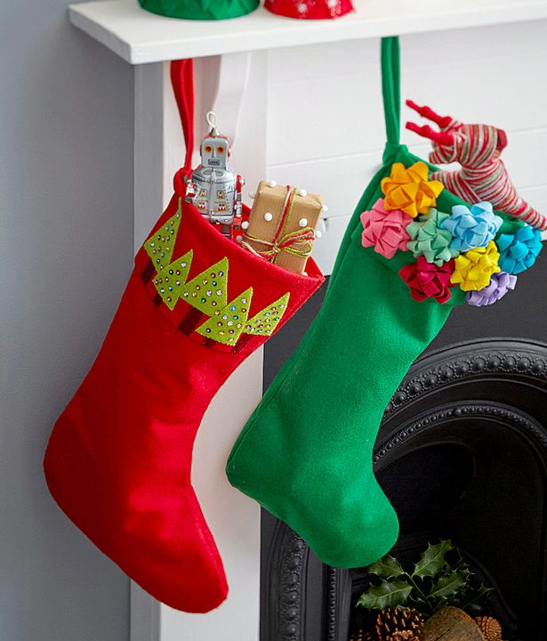 Making Christmas Stocking.How To Make Your Own Christmas Stockings With The Kids Or