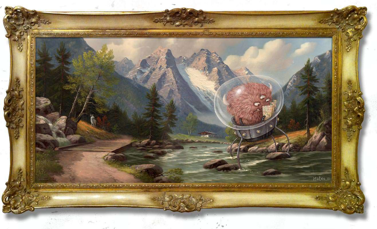 There's seriously nothing better than thrift store art
