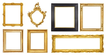 Focus on frames: amazing thrift store finds!