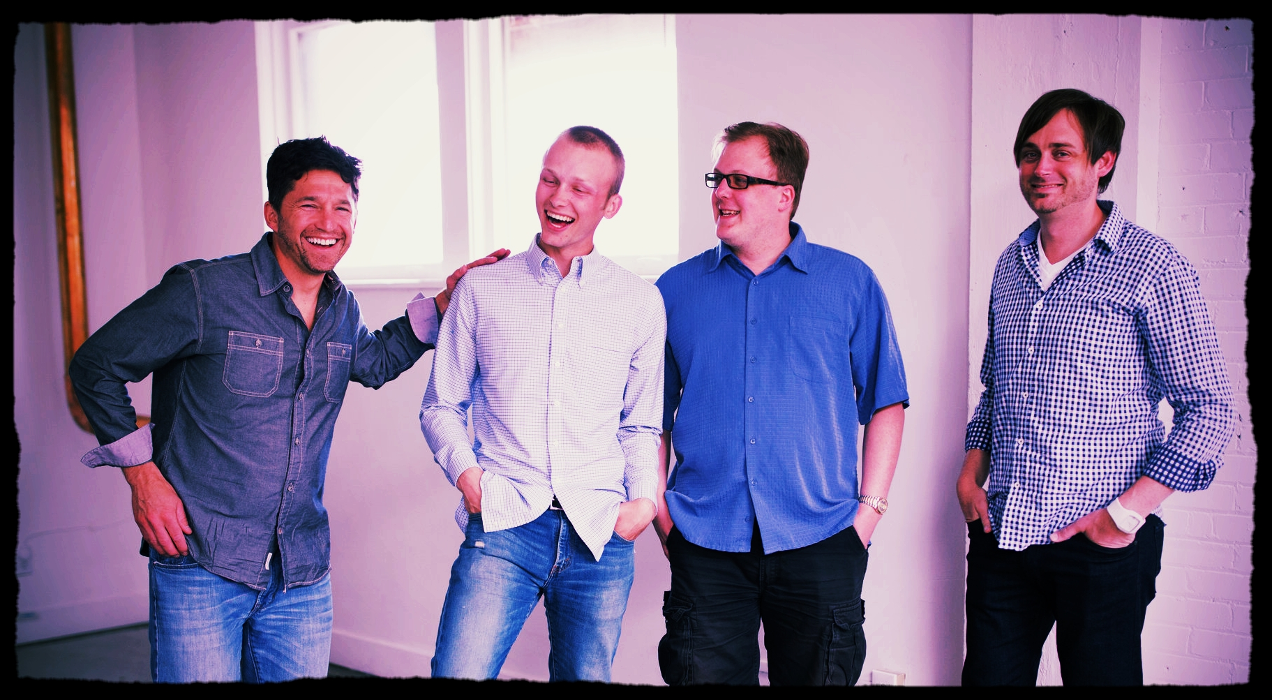 Scott (oo7), Andy, Chris (Wolf) and Steve (Mi6) Hanging Out At The Last Photo Shoot