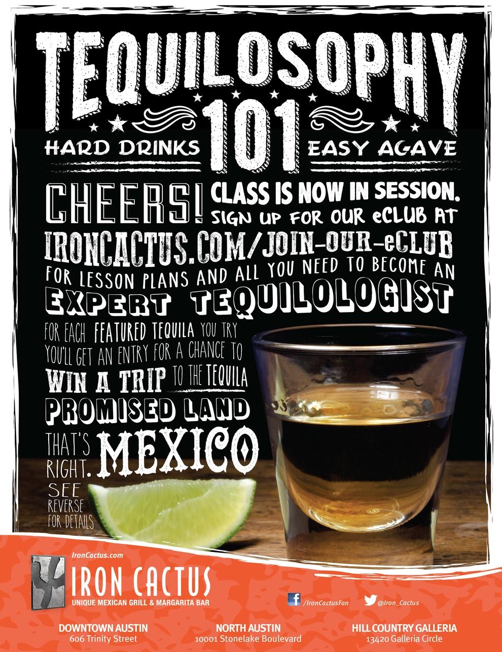 Iron Cactus Magazine Ad