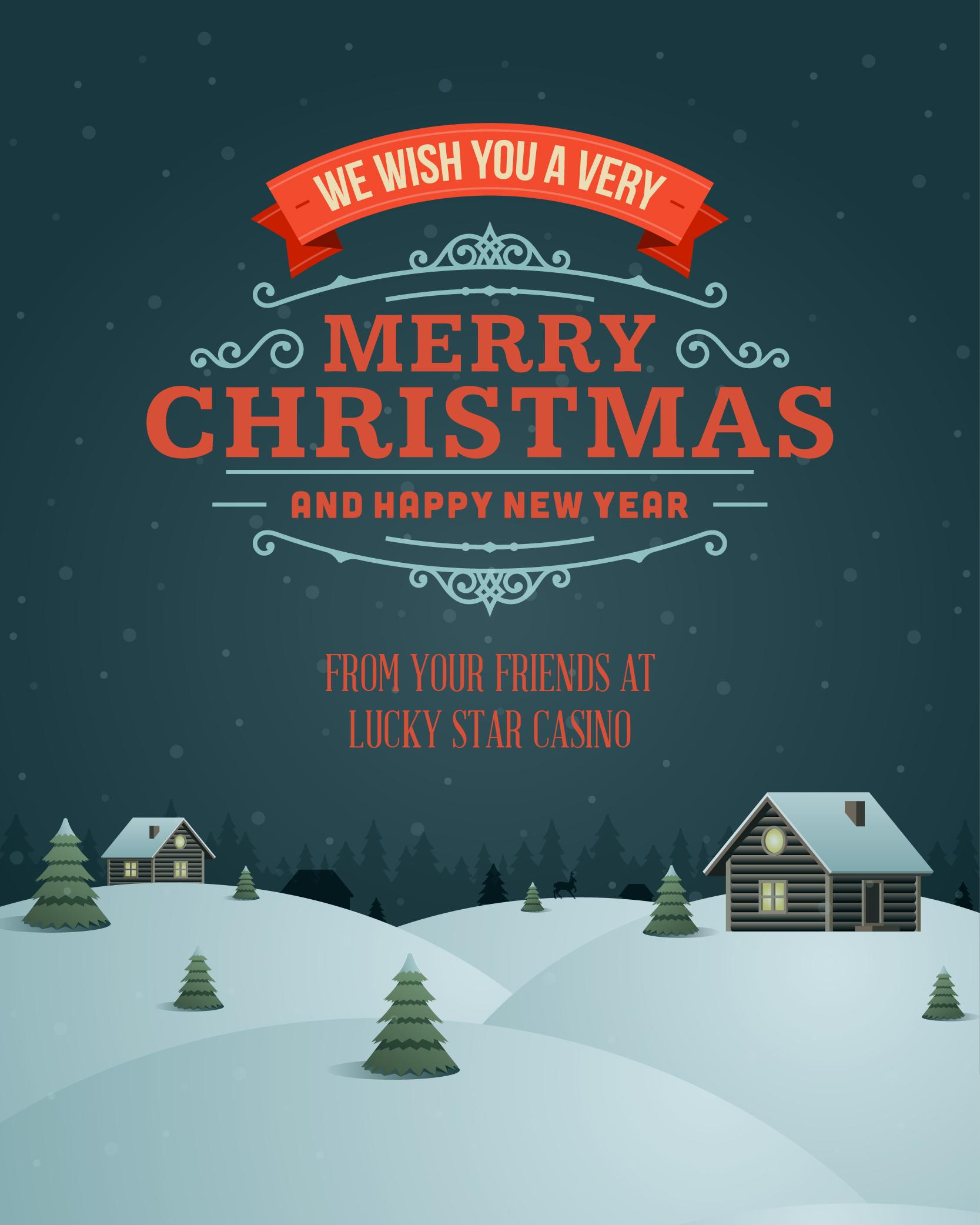 Lucky Star Holiday eCard