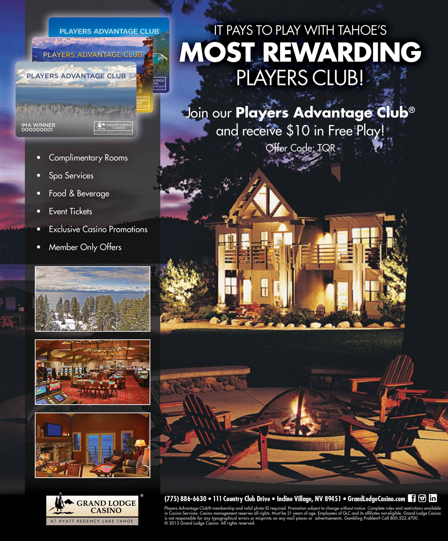 Grand Lodge Casino Magazine Ad