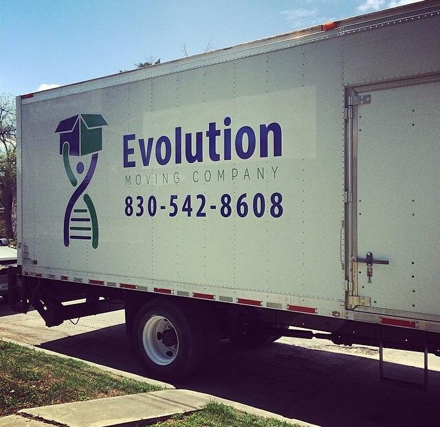 Evolution Moving Branding