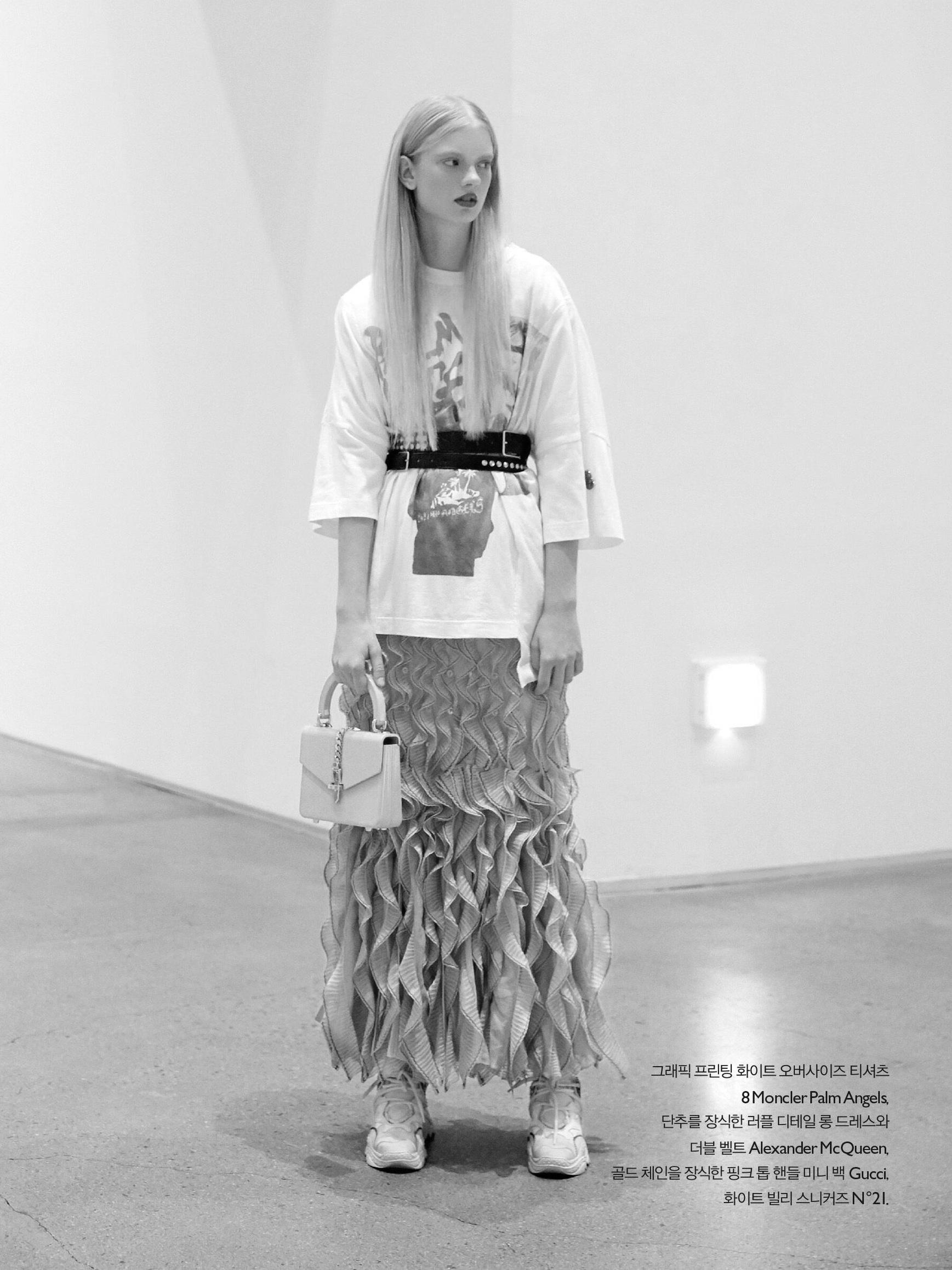 Charlize Beth for Noblesse Magazine Korea -