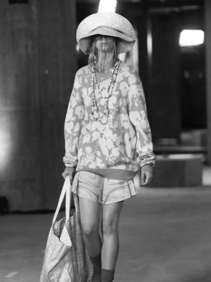 Charlize Beth walks for Double Rainbouu at MFW -
