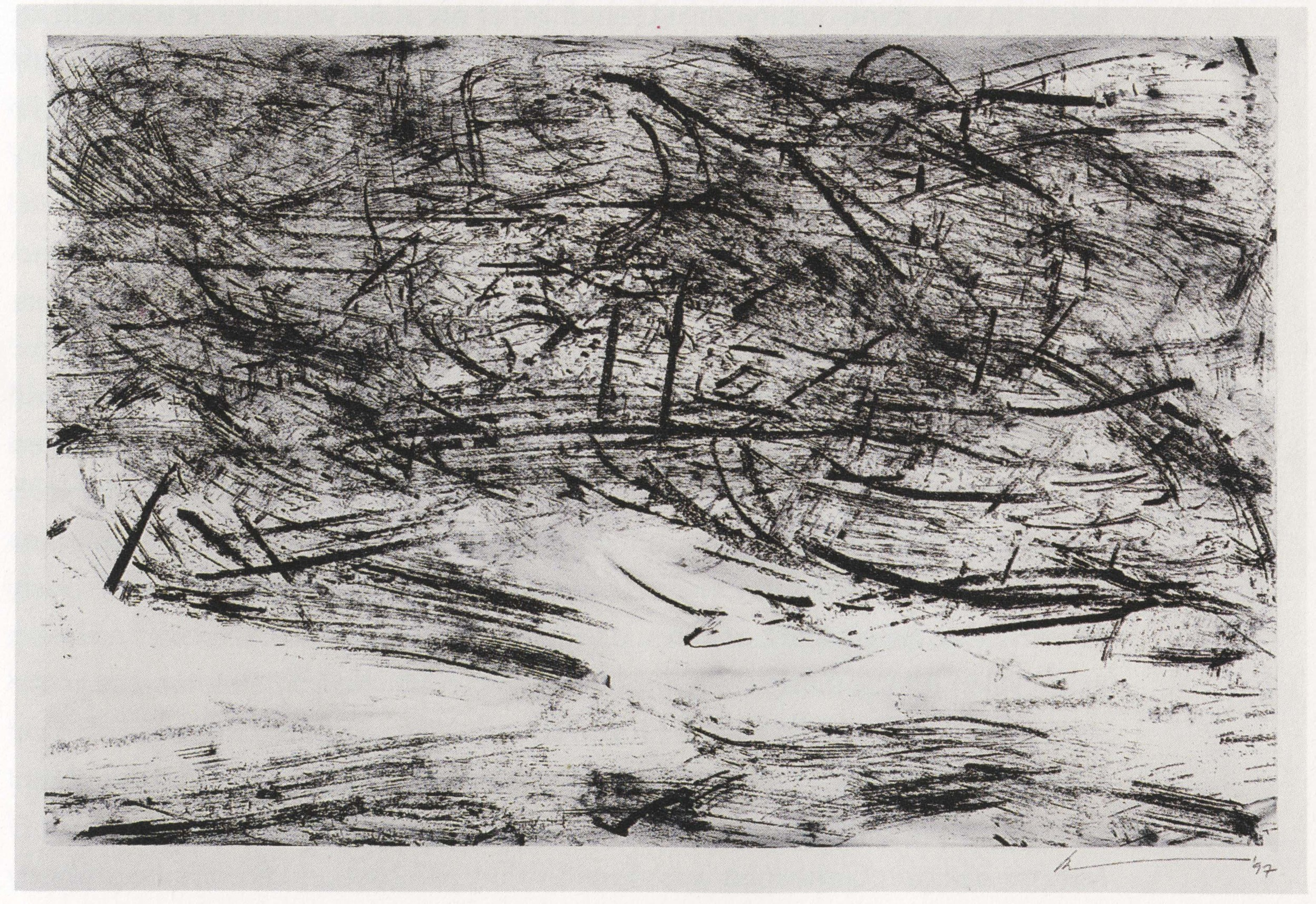 From   Pelléas et Mélisande  , 1997.  Charcoal on paper