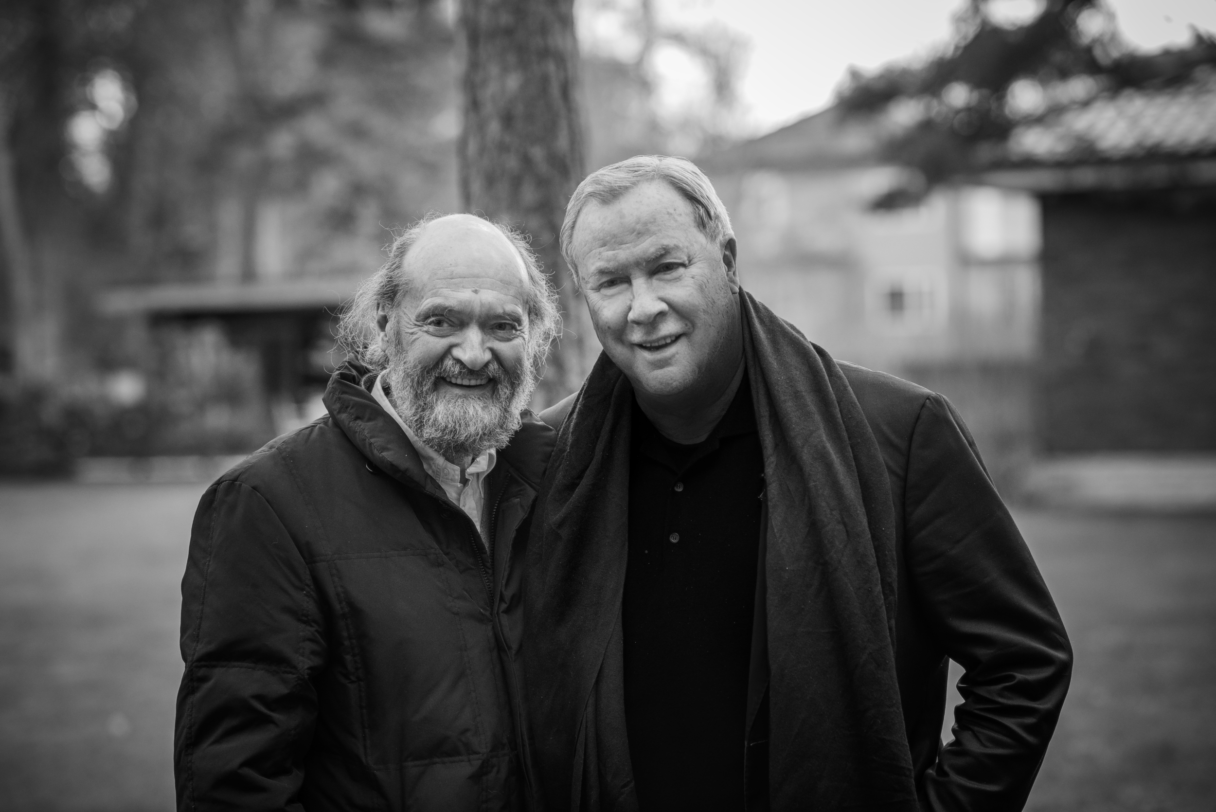 Arvo Pärt and Robert Wilson (Photograph © Julian Mommert)