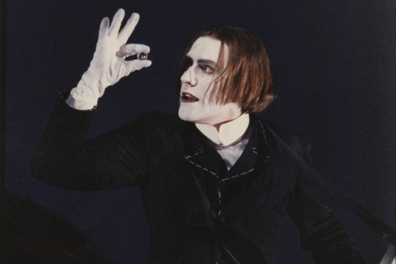 Stefan Kurt (Wilhelm) at the Berliner Festspiele, 1990