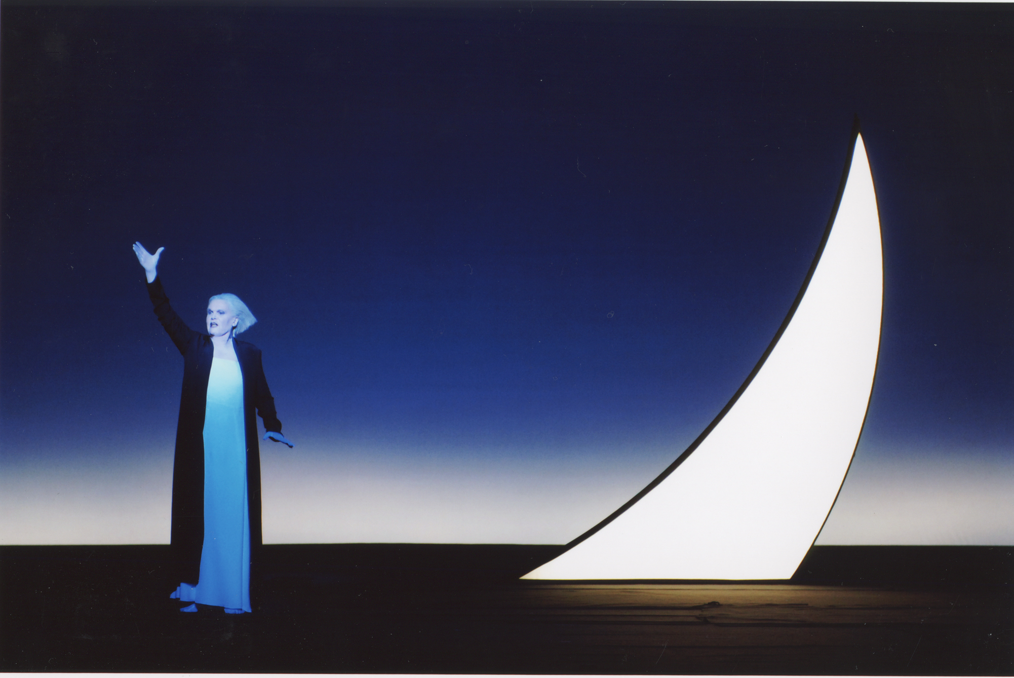 Anja Silja (The Woman), Berlin, 2004