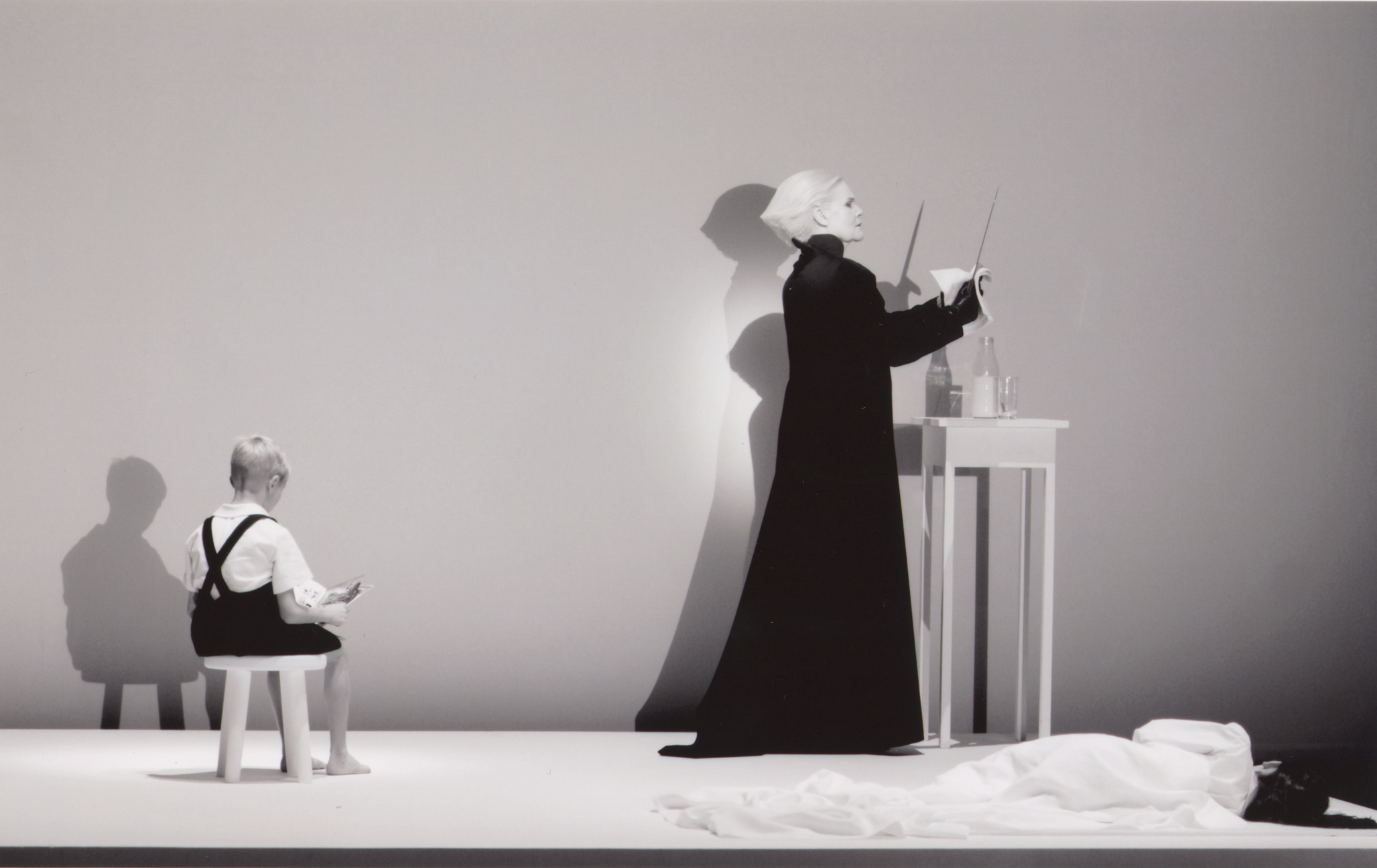 Anja Silja performing 'Murder Scene' from Deafman Glance as a Prologue to Expectation, Berlin, 2004