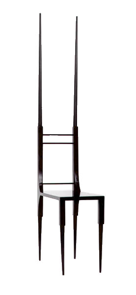 Chair from   Time Rocker    Designed by Robert Wilson