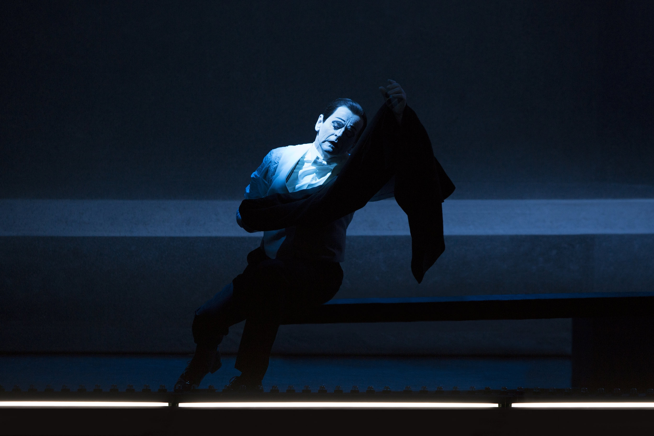 Scene II A - Mikhail Baryshnikov (Spoleto, 2015)