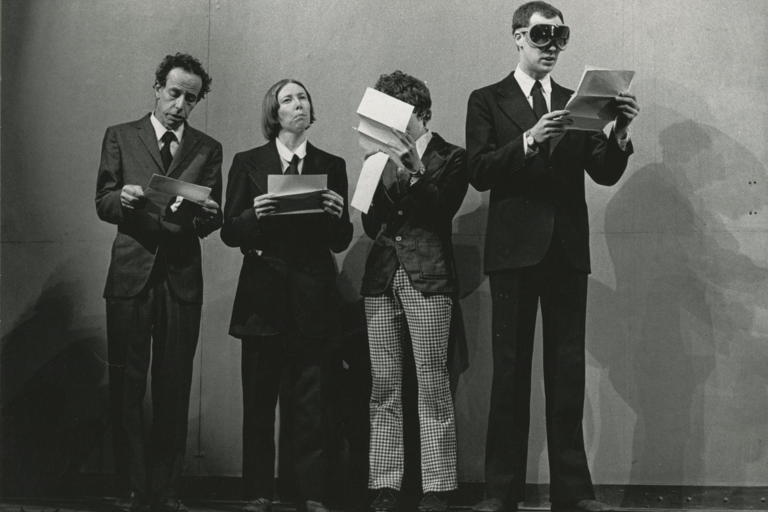 Prologue: Stefan Brecht, Kathryn Cation, Christopher Knowles, Robert Wilson