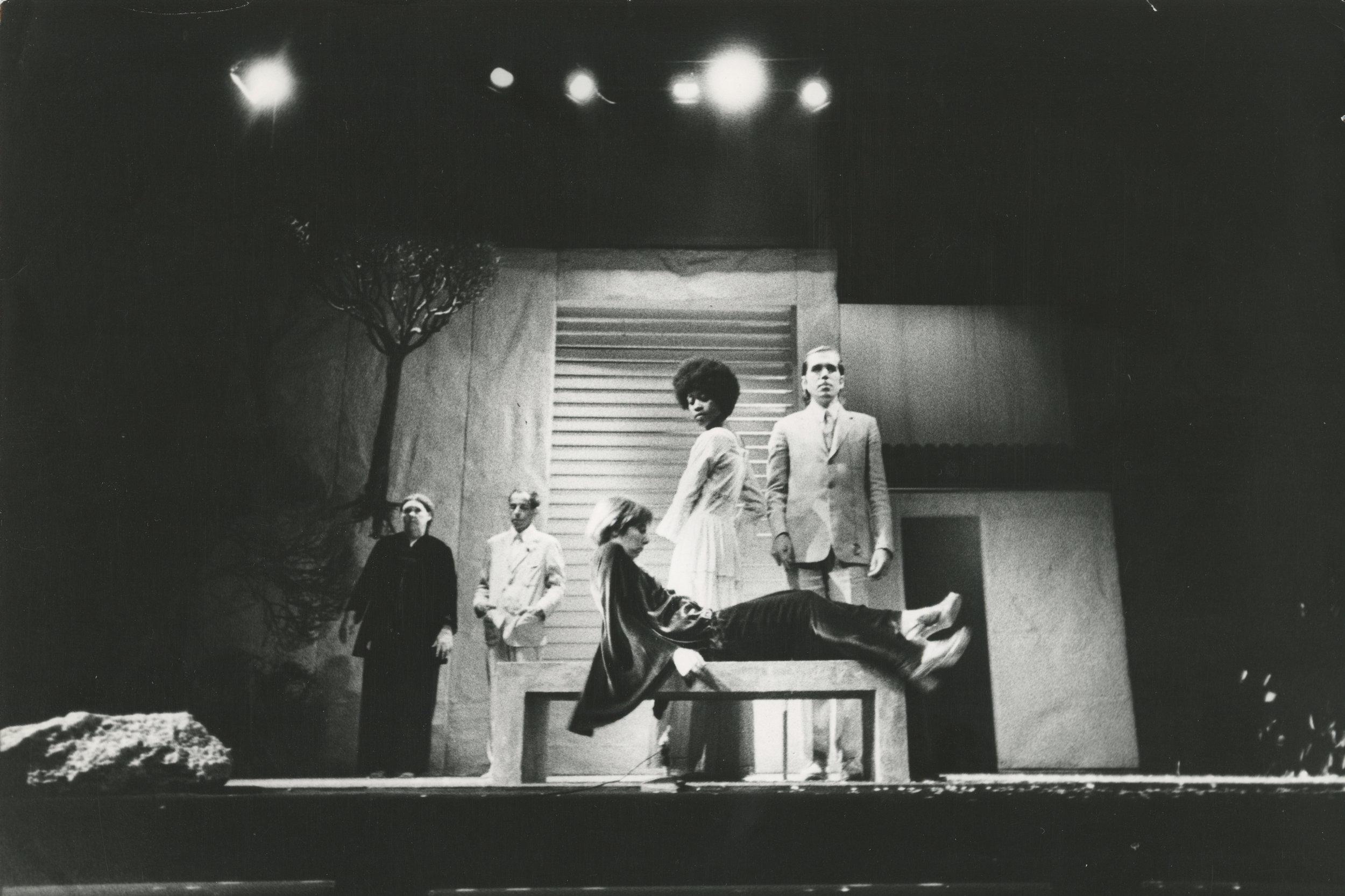 Act 4, Section 2: Scotty Snyder, Stefan Brecht, Kathryn Cation, Sheryl Sutton, James Neu