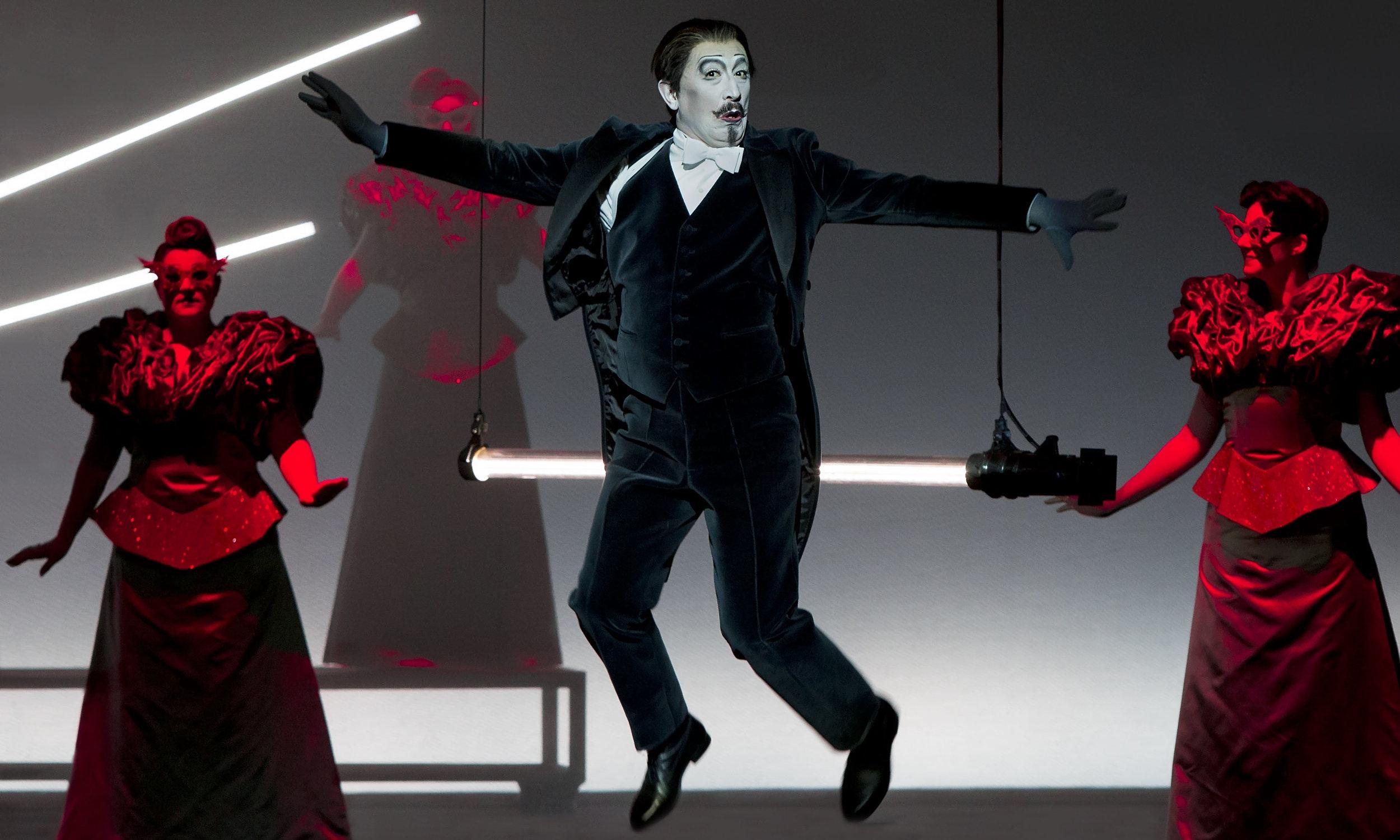 Act II, Scene 2: Vladimir Taisaev (Doctor), Chorus of the Perm Opera. Perm, 2016