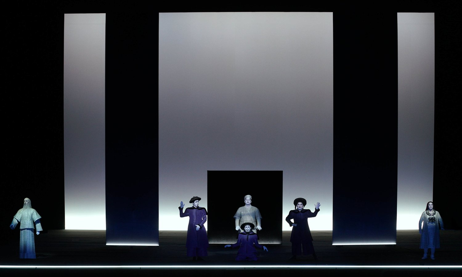 Turandot, Act I, Teatro Real Madrid, 2018