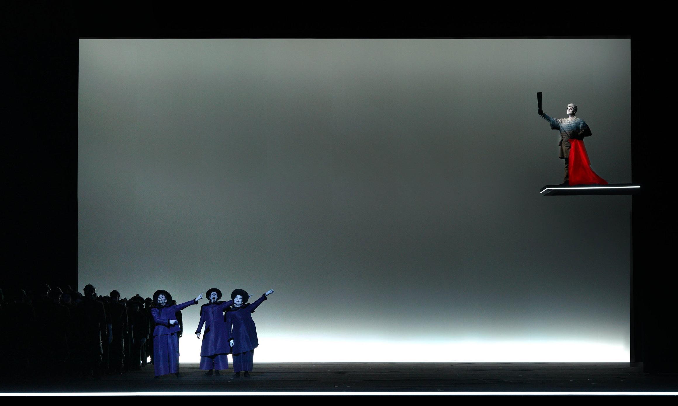 Turandot, Act I, Teatro Real Madrid, 2018