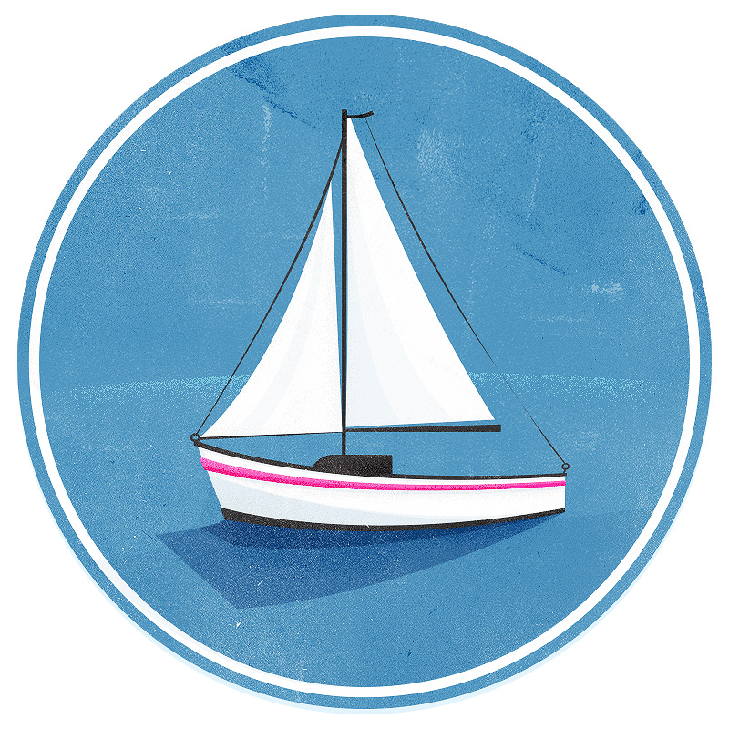 Sailboat illustration