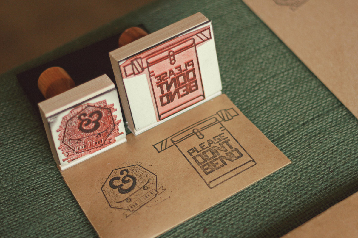 trzown custom packaging stamps
