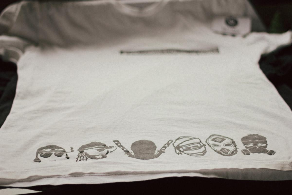 Prez Powerz ninja t shirt design