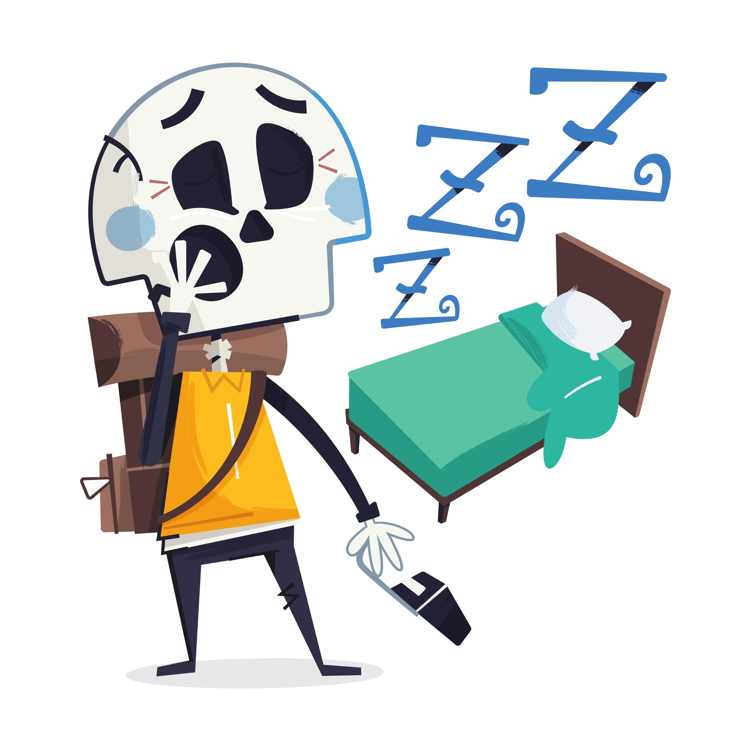 Wake up, tired. Yawnnn
