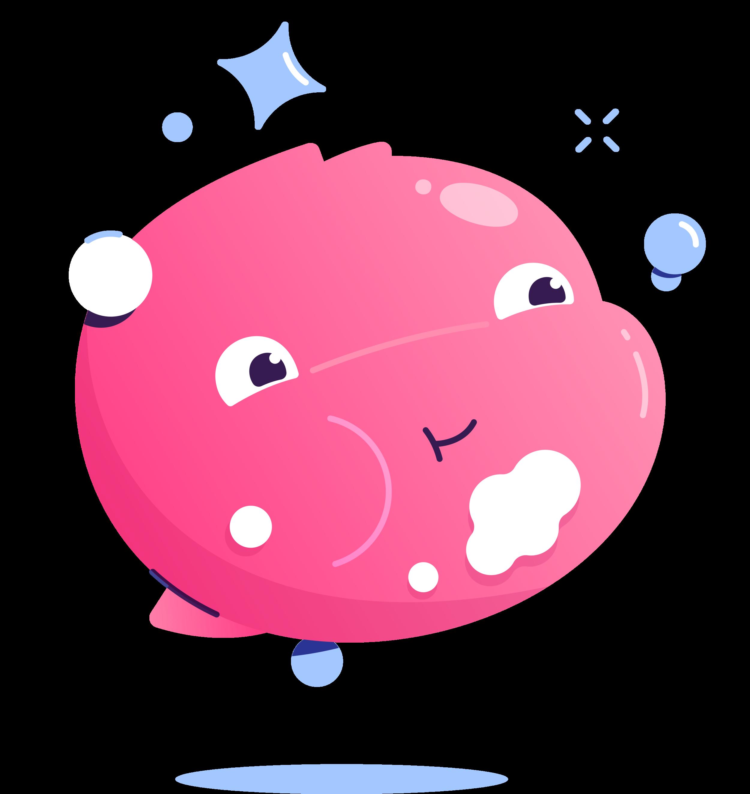 Publix Kids Mouthwash Illustration - Kirk Wallace Bubble 02