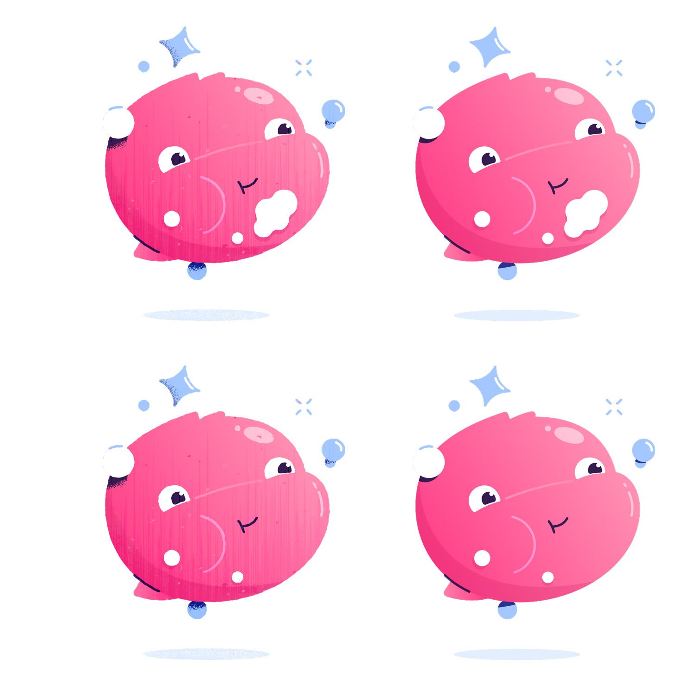 Publix Kids Mouthwash Illustration - Kirk Wallace Bubble 01