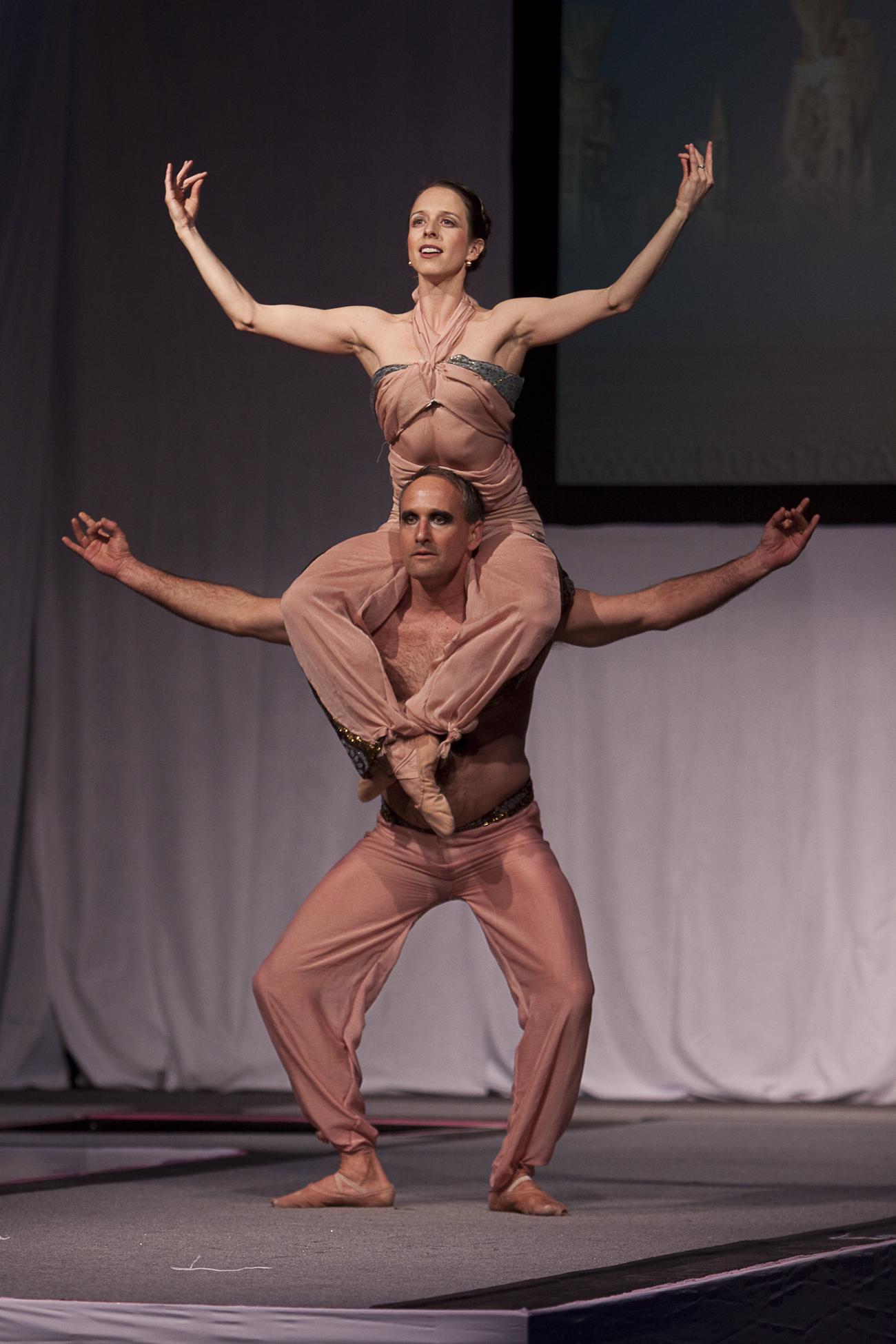 Yoga Ballet duet