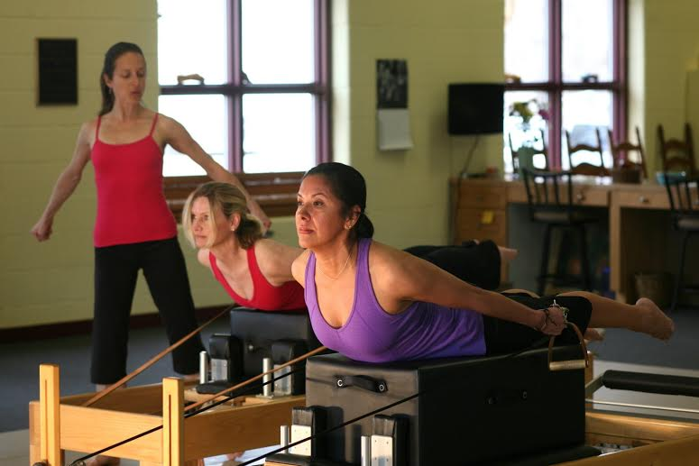 Pull Straps on the Reformer