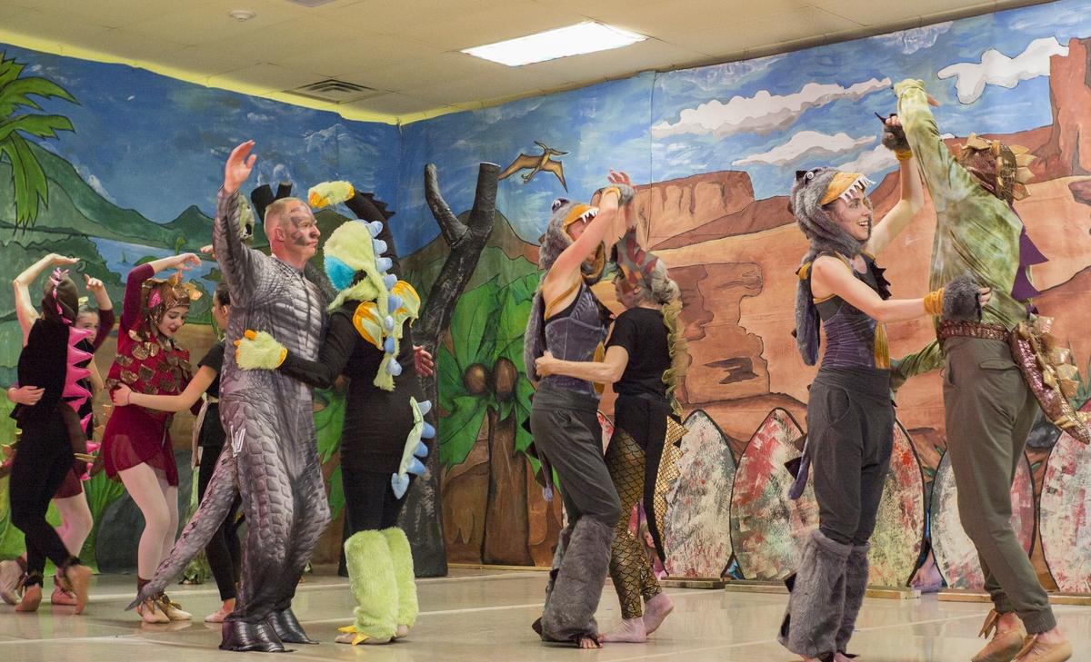 Adultasaur Dance