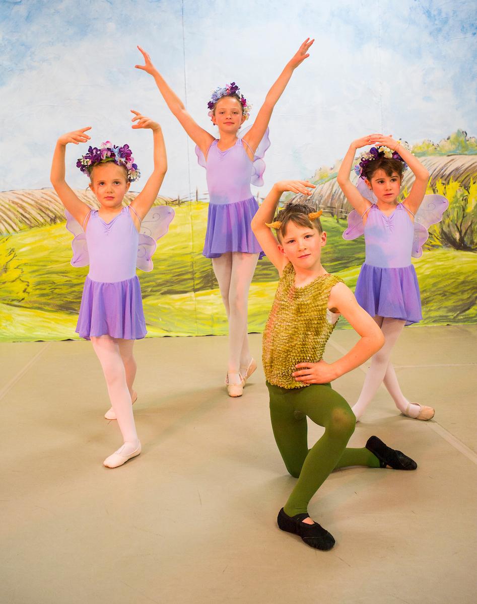"""Violet Spring Fairies & Puck"""