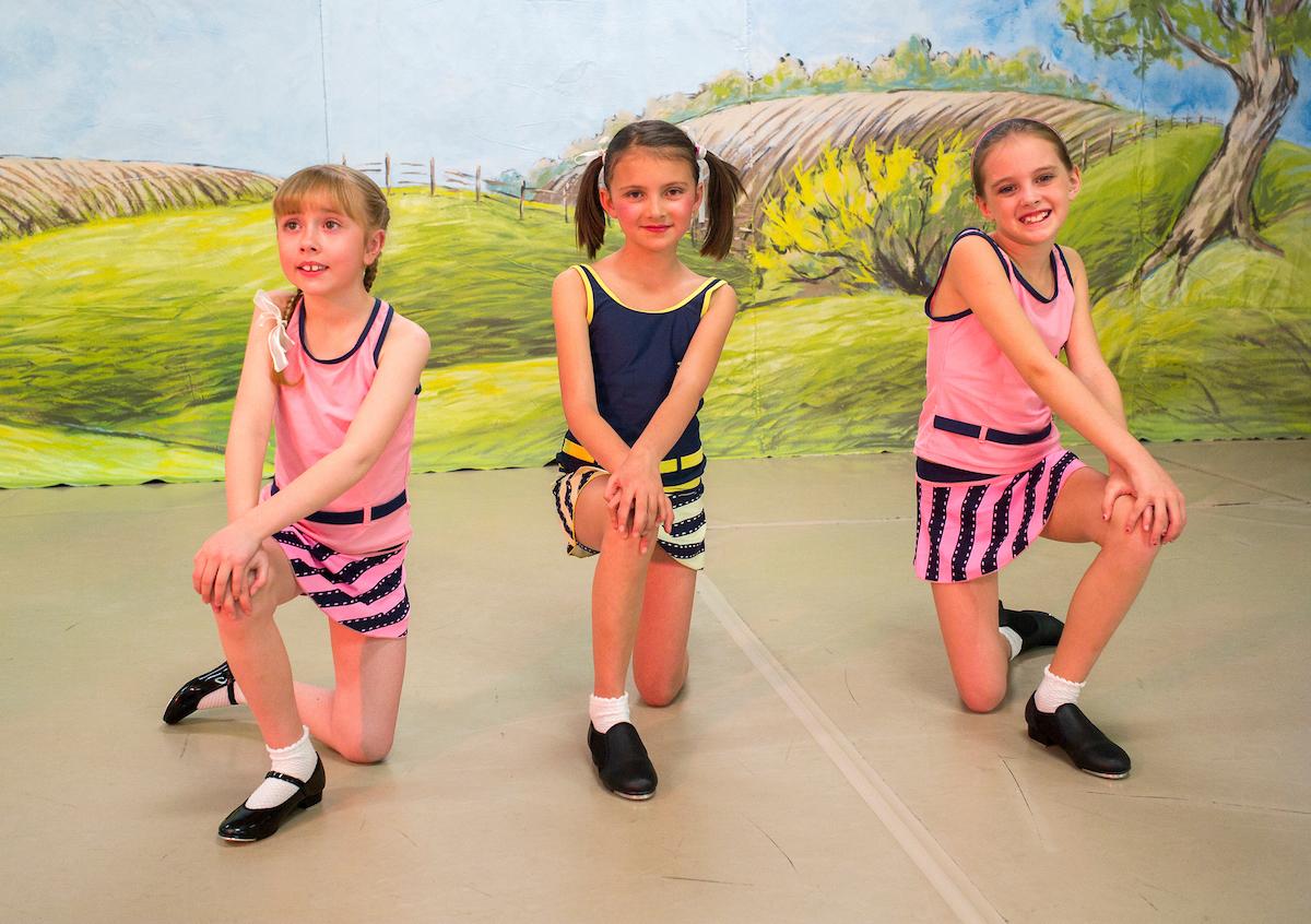 """La Mer""- dancer on the far right was also a Violet fairy."